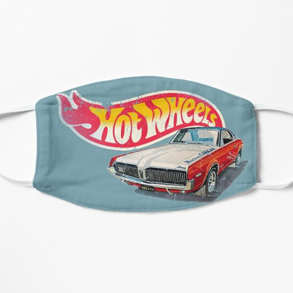 Authentic Vintage, Distressed Hot Wheels 1968 Custom Cougar Mask