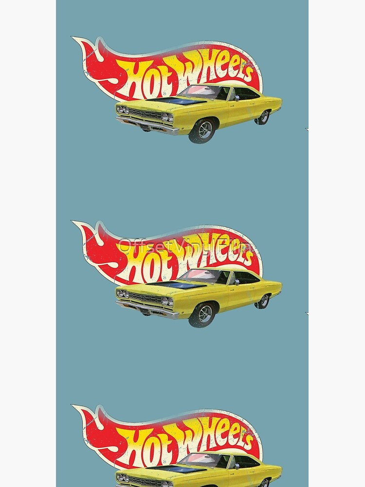Hot Wheels Plymouth Roadrunner 1968 - Authentic, Vintage, Distressed  by OffsetVinylFilm