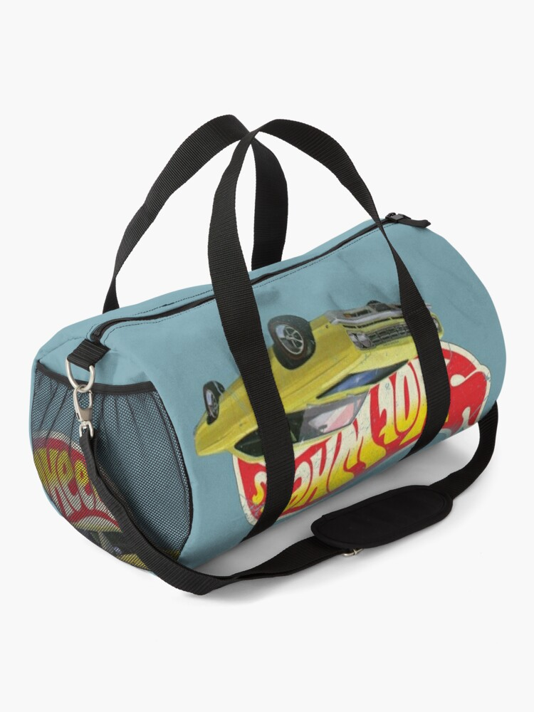 Alternate view of Hot Wheels Plymouth Roadrunner 1968 - Authentic, Vintage, Distressed  Duffle Bag