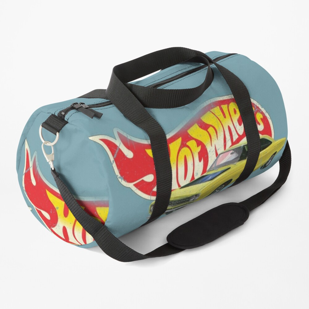 Hot Wheels Plymouth Roadrunner 1968 - Authentic, Vintage, Distressed  Duffle Bag