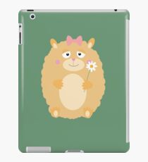 Fluffy Hamster iPad Case/Skin