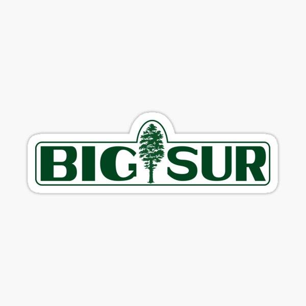 Big Sur Tree Sticker