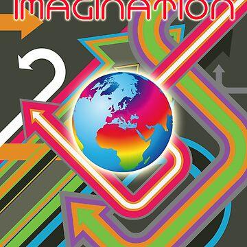 Fluro Imagination - Colour The World by MusoMagicMerch