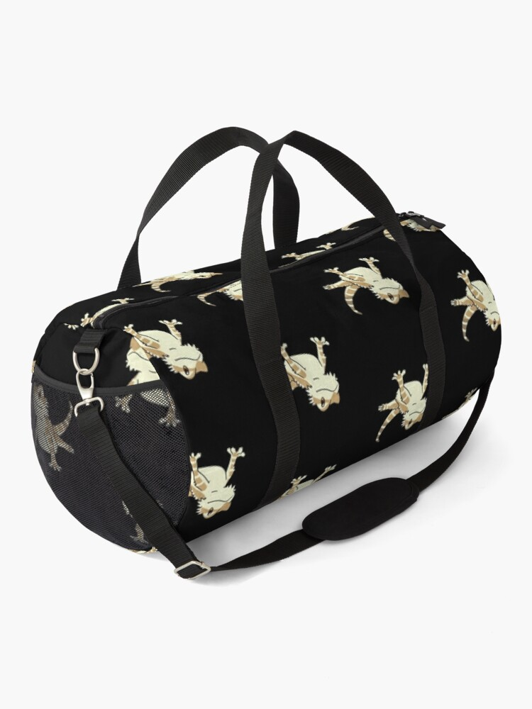 Alternate view of Cute Bearded Dragon Duffle Bag