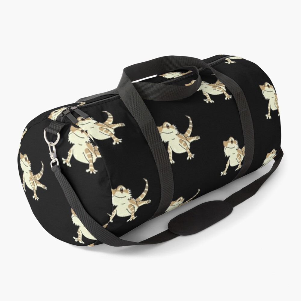 Cute Bearded Dragon Duffle Bag