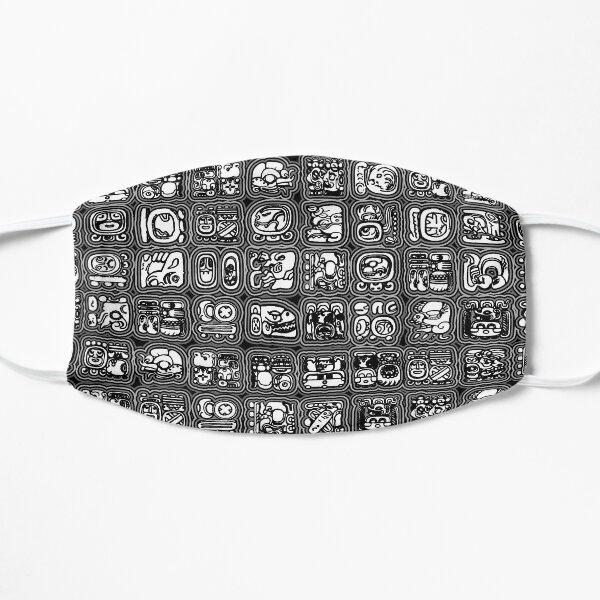 Mayan Temple B&W Mask