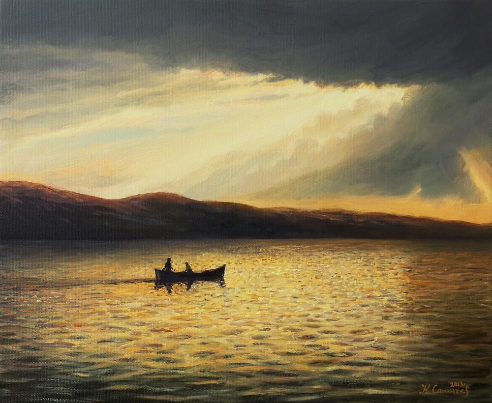 The Bay of Silence by kirilart
