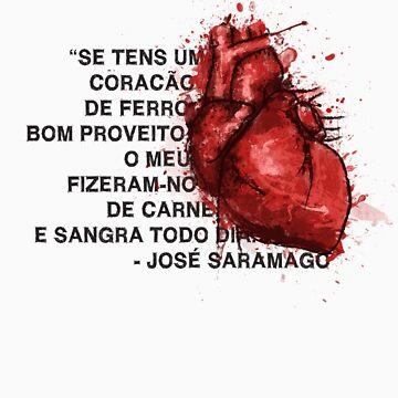 Jose Saramago by bernaloyola