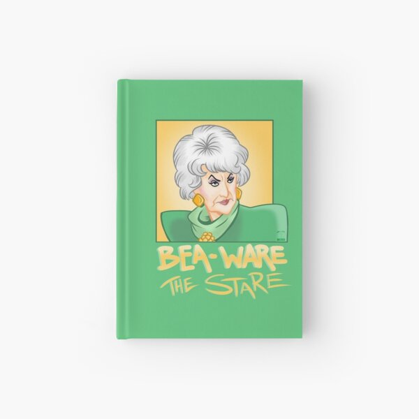 Bea-ware the Stare Hardcover Journal