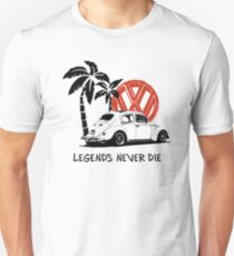 Legends Never Die - Retro BUG T-Shirt Unisex T-Shirt
