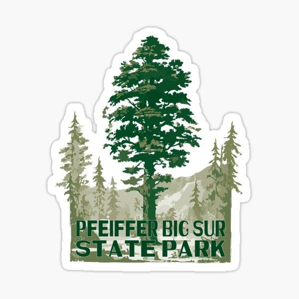 Big Sur State Park Poster Sticker