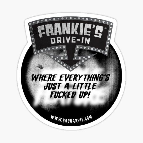 Frankie's Drive In - Logo Tee Sticker