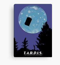 T.A.R.D.I.S. Canvas Print