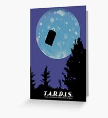 T.A.R.D.I.S. Greeting Card