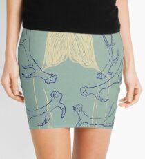 Mint Metamorphosis Mini Skirt
