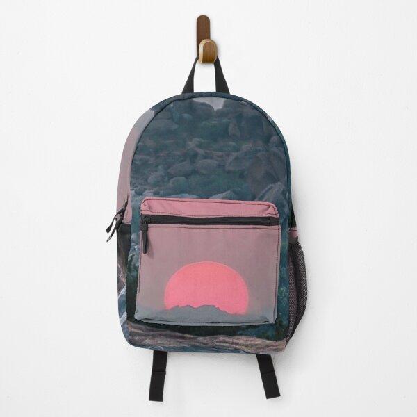 Otherworldly sunrise of Hampi, India Backpack