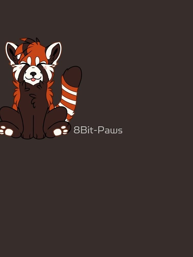 Cute Chibi Red Panda by 8Bit-Paws