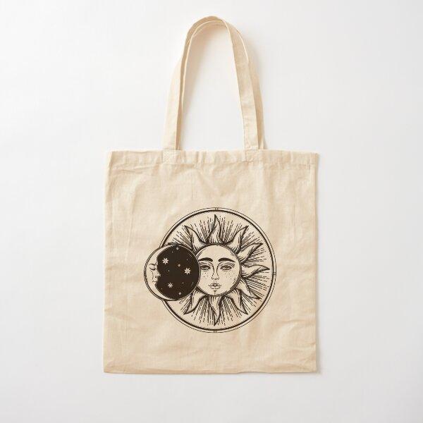 Sun And Moon | Hippie Decor  Cotton Tote Bag