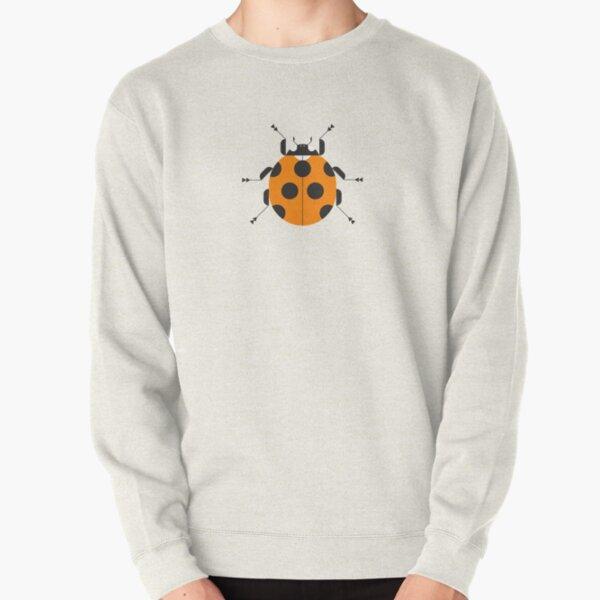 Nature: Ladybug Green Pullover Sweatshirt
