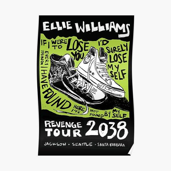 Ellie's Revenge Tour - Mock Band Poster Poster