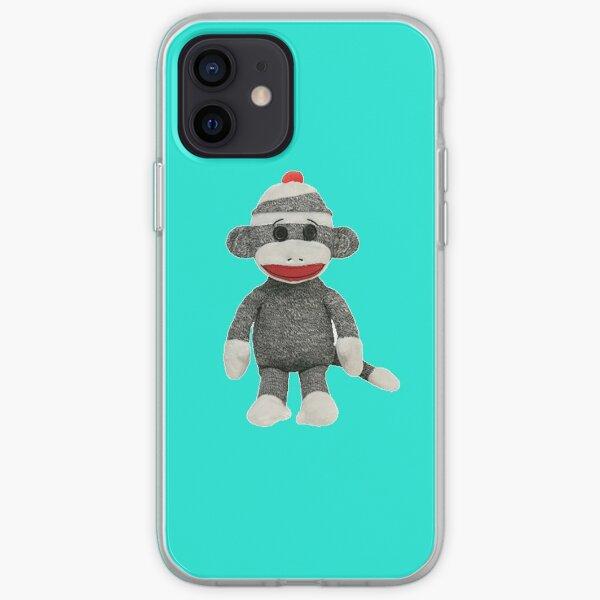 Sock Monkey iPhone iPod Case iPhone Soft Case