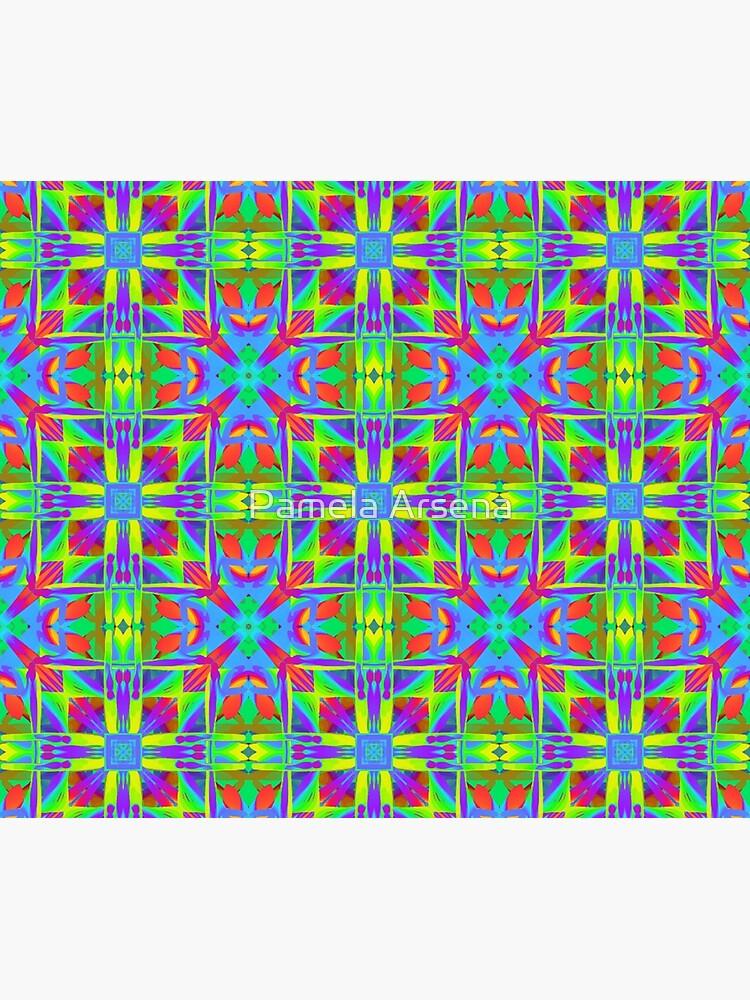 Bohemian Sacred Geometry Print by xpressio