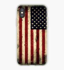 Retro USA Flag iPhone Case