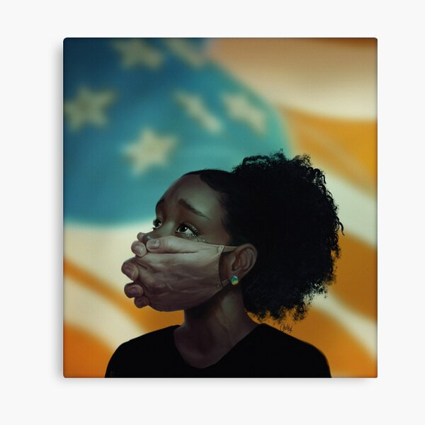 Hand of the Free Canvas Print