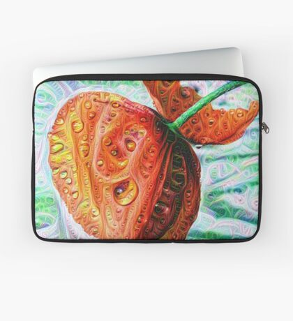#DeepDreamed Flower 5x5K v1449147619 Laptop Sleeve