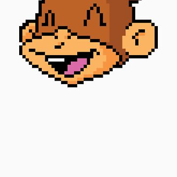 Champion Chimp 8-Bit by SteveArmstrong