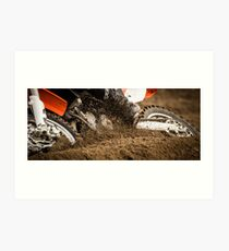 Getting Dirty With It Art Print