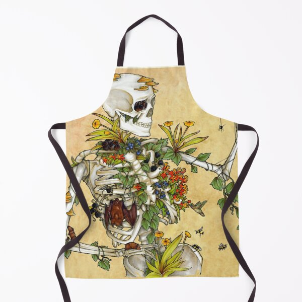 Bones and Botany Apron