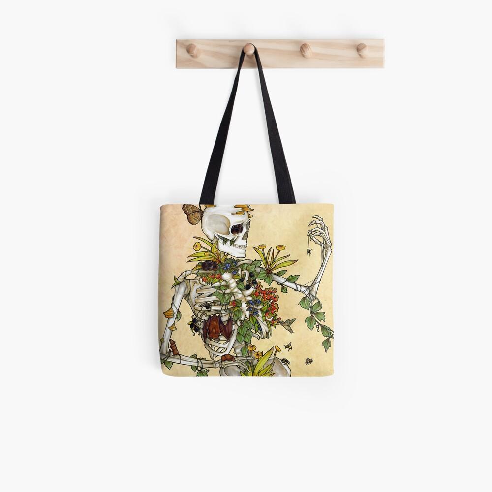 Bones and Botany Tote Bag
