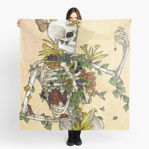 Bones and Botany Scarf