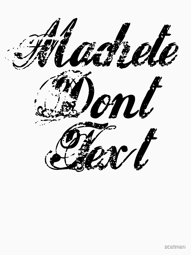Machete - Machete Don't Text by scatman