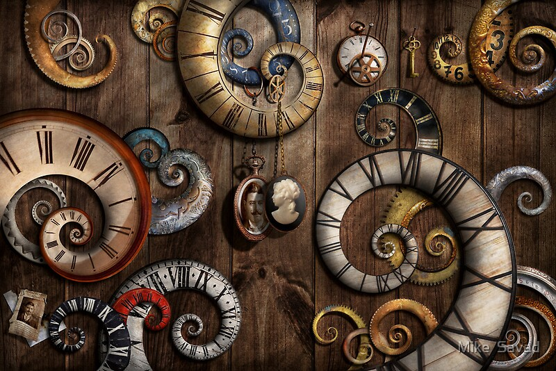 Quot Steampunk Clock Time Machine Quot By Michael Savad