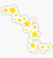 Yellow Stars Sticker