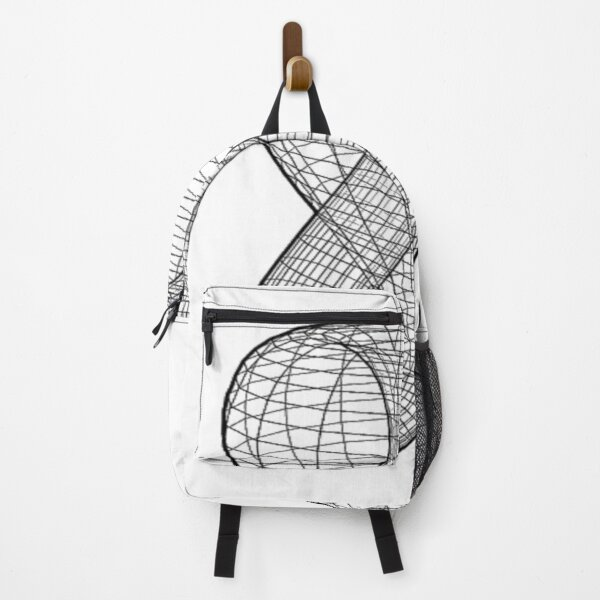 A two-dimensional representation of the Klein bottle immersed in three-dimensional space, #TwoDimensional, #representation, #KleinBottle, #immersed, #ThreeDimensional, #space Backpack