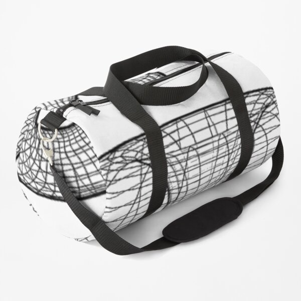 A two-dimensional representation of the Klein bottle immersed in three-dimensional space, #TwoDimensional, #representation, #KleinBottle, #immersed, #ThreeDimensional, #space Duffle Bag