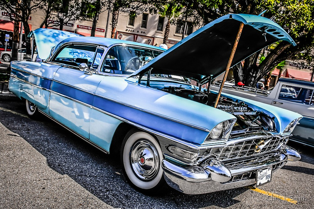 1956 Packard Executive American Classic Car by Chris L Smith