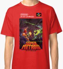 Super Metroid Nintendo Super Famicom Japanese Box Art Shirt (SNES) Classic T-Shirt