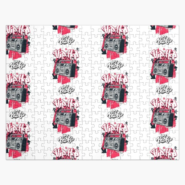 Hip Hop King Radio Old Skool Style Jigsaw Puzzle