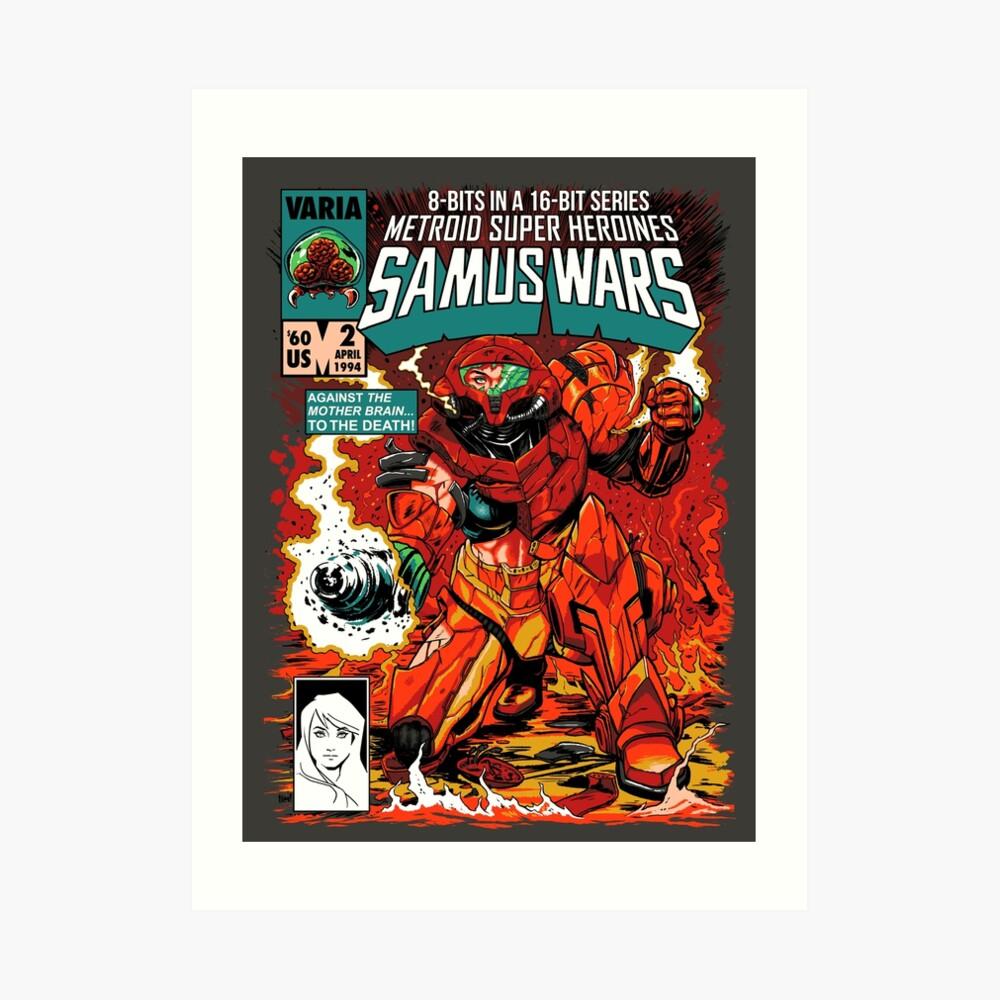 Samus Wars Lámina artística