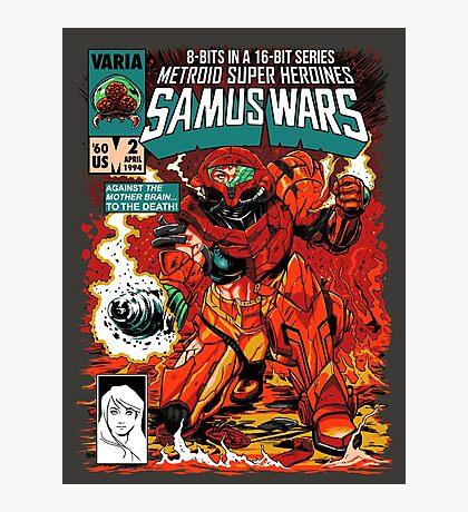 Samus Wars Photographic Print