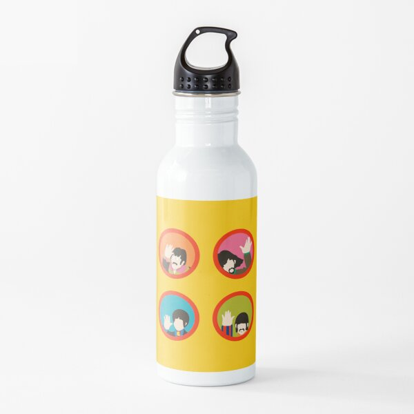 yellow submarine minimal Water Bottle