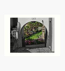 Italianate Garden Art Print
