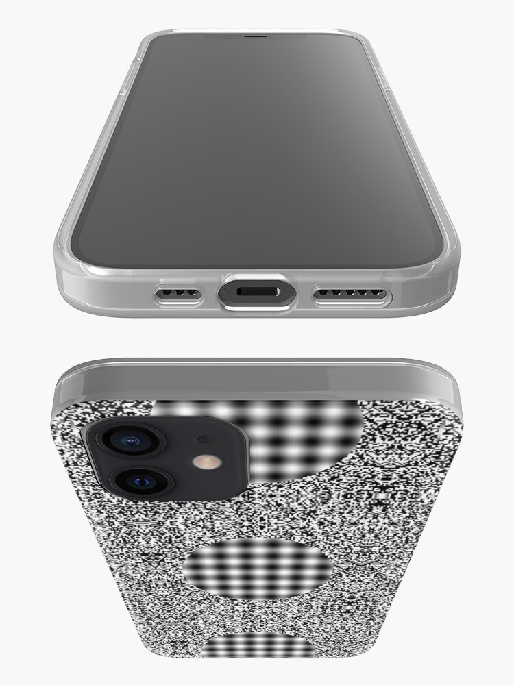 Alternate view of Optical illusion in Physics iPhone Case