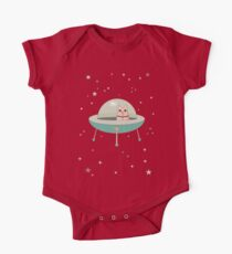CAT IN SPACE SHIP One Piece - Short Sleeve