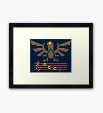 Song of the Songbird (Alt version. No bolts) Framed Print