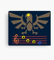 Song of the Songbird (Alt version. No bolts) Canvas Print